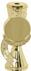 "6"" Insert Holder Gold Star Ribbon Trophy Riser"