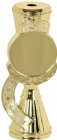 "7"" Insert Holder Gold Star Ribbon Trophy Riser"