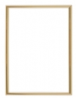 Gold 4 x 6 Self-Adhesive Slide-in Photo Holder Frame