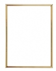 Gold 6 X 8 Self-Adhesive Slide-in Photo Holder Frame