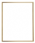 Gold 8 X 10 Self-Adhesive Slide-in Photo Holder Frame