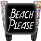 Beach Please Engraved Tumbler