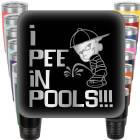 I Pee in Pools Engraved Tumbler