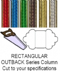 Rectangular Outback Column - Cut to Length