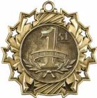 Ten Star Series 1st Place Award Medal