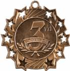 Ten Star Series 3rd Place Award Medal